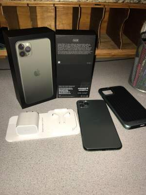 Apple iPhone 11 Pro Max - Midnight Green (Unlocked +CDMA + GSM) - All electronics products on Aster Vender