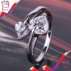 Female : 18 K Silver Filled  Ring  - Rings on Aster Vender