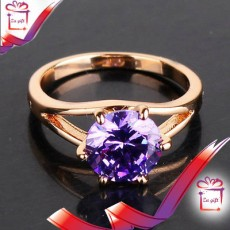 Female : 18 K Silver Filled  Ring  - Rings on Aster Vender