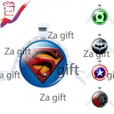 Unisex : Superman & Batman Necklaces only - Necklaces on Aster Vender