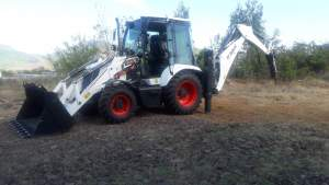 Bobcat Backhoe Loader - Excavator & Loader on Aster Vender