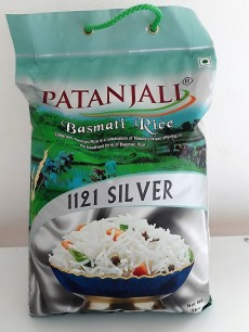 Patanjali basmati rice 1121 Silver - Other foods and drinks on Aster Vender