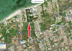 Land (pied dans l'eau) for sale at Point aux Sable in Mauritius.  - Land on Aster Vender