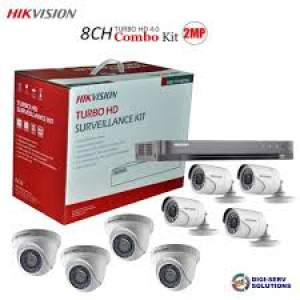 HikVision CCTV kit 8 Channel(1080p) - All electronics products on Aster Vender