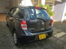 Nissan march ak13 year 2013 automatic transmission - Family Cars on Aster Vender