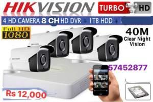Hik vision 1080 pixels kit - CCTV Camera on Aster Vender