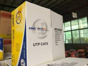 UTP CAT6 ADPLAN Cable 305 metres - CCTV Cable & Connectors on Aster Vender