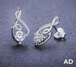Gorgeous Stud Earrings (Genuine 925 Sterling Silver) - Earrings on Aster Vender