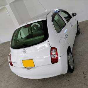 Nissan March Ak 12 Manual for rent - Compact cars on Aster Vender