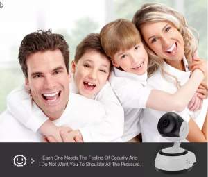 Home & Office Mini Wireless Camera with Voice Audio - WiFi Camera on Aster Vender