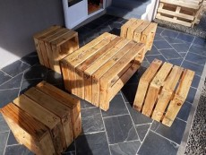 Rustic Garden Set - Garden Furniture on Aster Vender