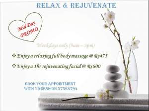 Relax & Rejuvenate  - Hair & Beauty Salon on Aster Vender