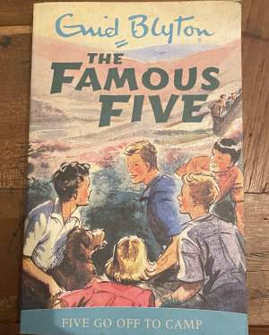 The famous five book(5 go off to camp) - History on Aster Vender