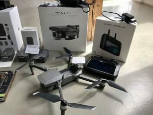 DJI MAVIC 2 PRO DRONE + FLY MORE KIT + 3 BATTERIES - Drone on Aster Vender