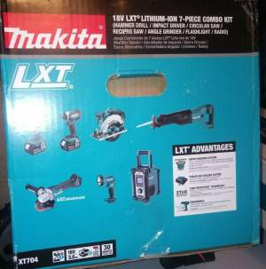 Makita XT1501 18V LXT Lithium-Ion Cordless 15-Piece Combo Kit (3.0Ah) - All Hand Power Tools on Aster Vender
