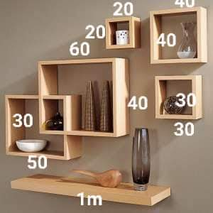 Wall Display Shelf - Interior Decor on Aster Vender