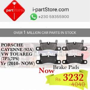 PORSCHE & VW GENUINE PARTS REAR BRAKE PAD SET - Spare Parts on Aster Vender