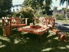 Pallet Wood Furniture - Garden Furniture on Aster Vender
