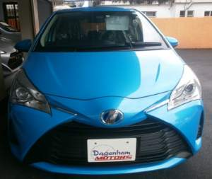 TOYOTA VITZ YR FEB 2017 - Family Cars on Aster Vender