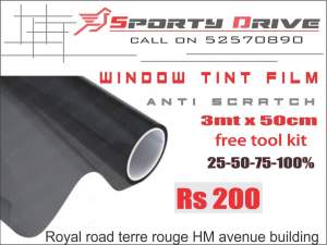 anti scratch tint film  - Spare Parts on Aster Vender