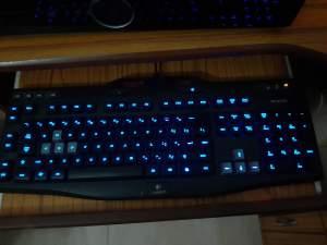 Gaming PC + HP Monitor + Logitech G106 Gaming Keyboard  - Gaming Laptop on Aster Vender
