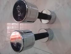 2 x dumbbell 6 kgs  - Fitness equipment on Aster Vender