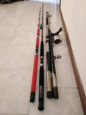 Fishing rod s lots - Other parts on Aster Vender