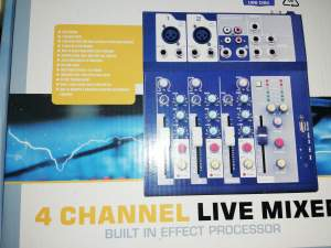 Mixer Oms f4 usb - Other Musical Equipment on Aster Vender