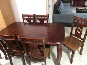 Dining Table set (6 Chairs) - Table & chair sets on Aster Vender