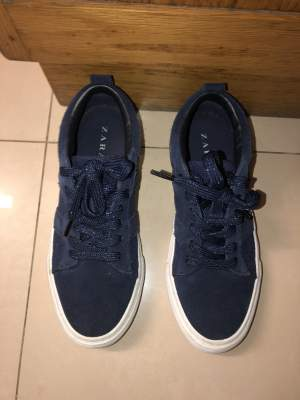 Zara blue shoes - Others on Aster Vender