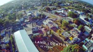 Commercial land, terre rouge 32 perches behind filling total  - Land on Aster Vender