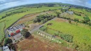 Commercial land, D'Epinay pamplemousses, infront of family supermarket - Land on Aster Vender