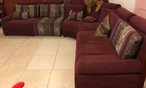 Canapé..corner sofa - Sofa bed on Aster Vender