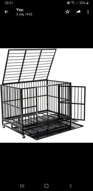 CAGE FOR SALE - Dogs on Aster Vender