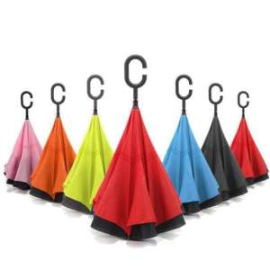 Windproof Reverse Umbrella ** PROMO Rs 295.00 - Others on Aster Vender