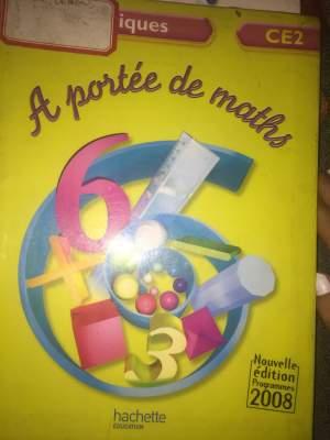 A portée de maths  ce2 - Self help books on Aster Vender