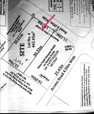 Terrain a vendre pereybere  - Land on Aster Vender