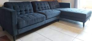 Grey Corner Sofa  - Sofas couches on Aster Vender