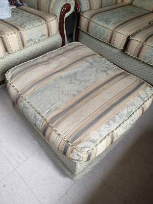 Sofa set with Foot Rest - Sofas couches on Aster Vender