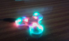 Fidget Spinner With Bluetooth And Light And Memory Card ALSO  - Fidget spinners on Aster Vender