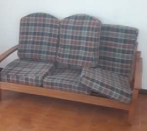 sofa en bois - Sofas couches on Aster Vender