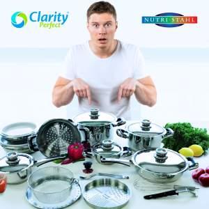 50% DISCOUNT :WORLD'S BEST SURGICAL STEEL COOKWARE SET. - Kitchen appliances on Aster Vender