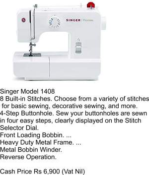 Singer Model 1408 - Sewing Machines on Aster Vender