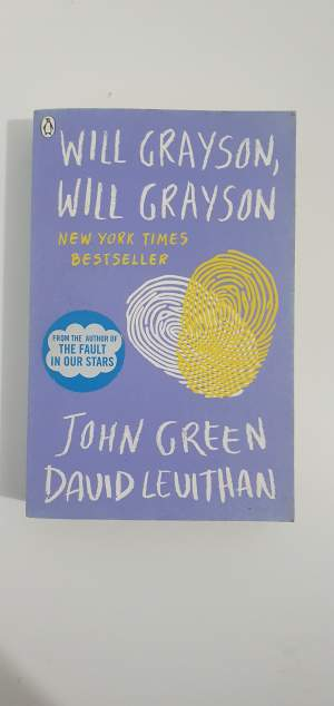 Will Grayson,Will Grayson - Fictional books on Aster Vender