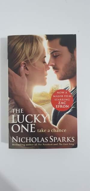 The Lucky one-Nicholas Sparks Novel - Fictional books on Aster Vender