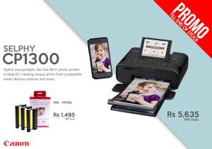 CANON SELPHY CP1300 - All Informatics Products on Aster Vender