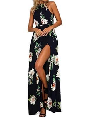 Black Floral Dress - Dresses (Women) on Aster Vender