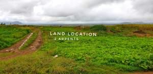 Agricultural land  1,000,000 per Arpent - Land on Aster Vender