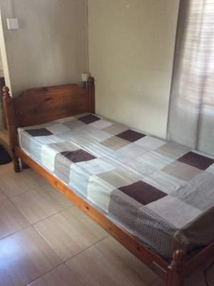 2 lit collégien a vendre avec matelas  - Bedroom Furnitures on Aster Vender