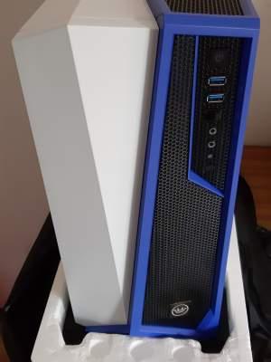 Gaming Desktop Spec Alpha White/Blue Liquid Cooled i7-8700k - All Informatics Products on Aster Vender